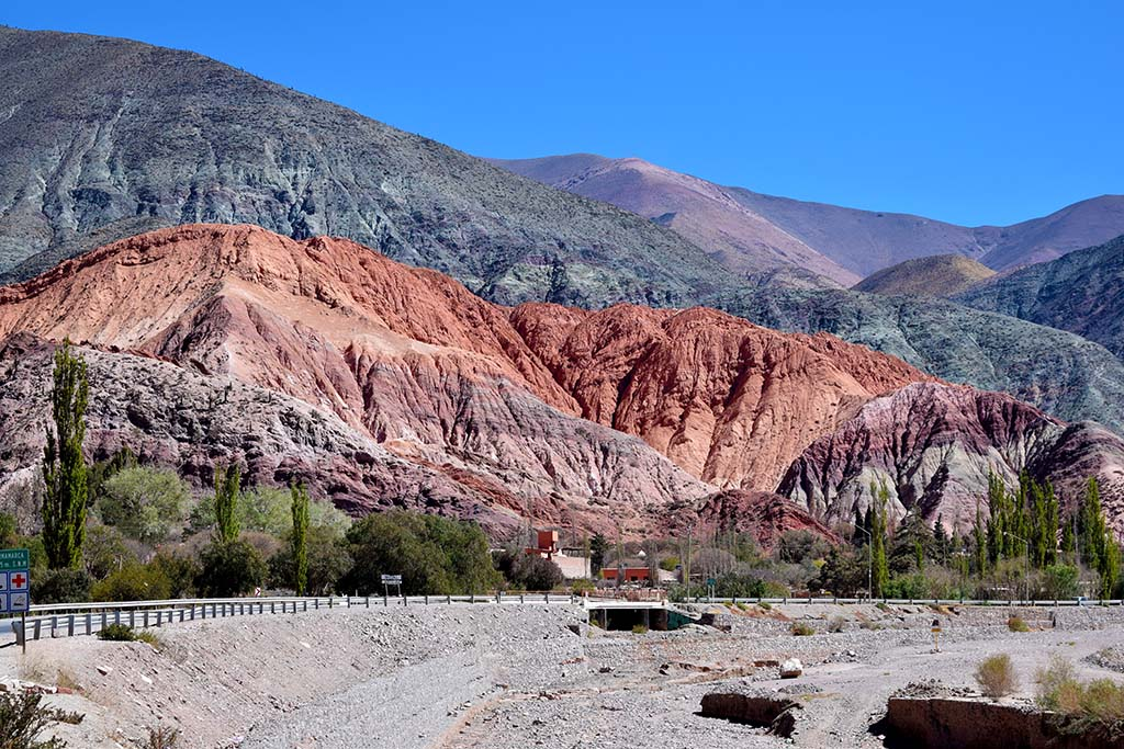 South America bucket list: Hill of Seven Colours Argentina