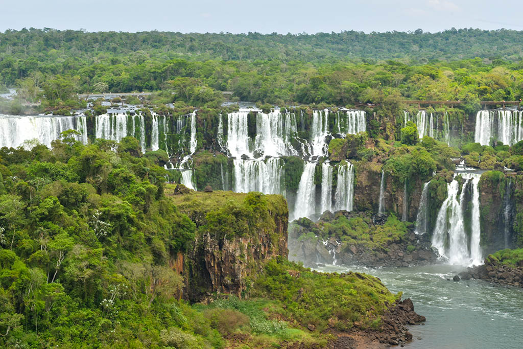 South America bucket list: Iguazu Falls