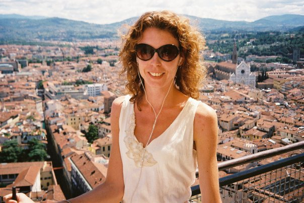 Janice in Florence on her six-month career break