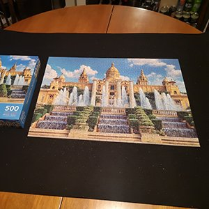 Armchair travel: Jigsaw puzzle Barcelona