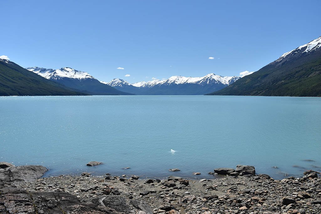 Lago Argentino in the Patagonian province of Santa Cruz is Argentina's largest freshwater lake