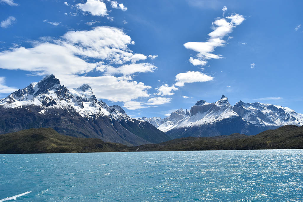 Lake Pehoé is one of the most iconic lakes in South America