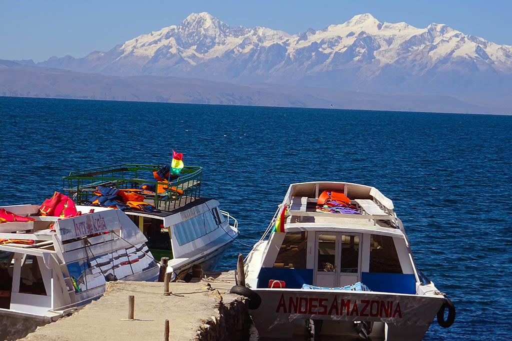 Lake Titicaca is the largest lake in South America