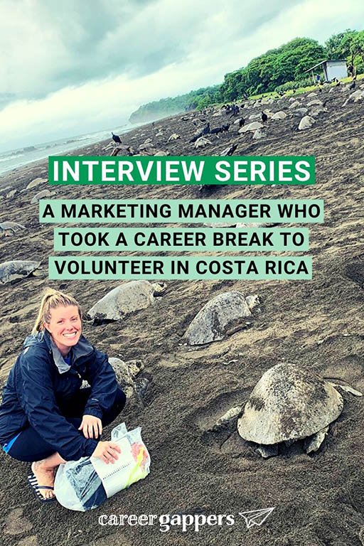 Marketing manager Michelle Matthews took a six-month break from her career to volunteer in Costa Rica. In this interview she talks about the experience. #careerbreak #volunteering #costarica #sabbatical #travelcareerbreak