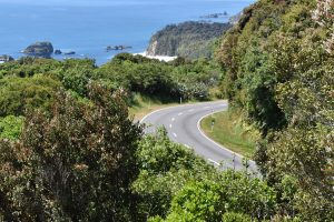 NZ South Island coastal road