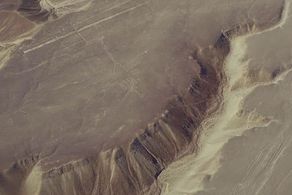 Nazca Lines airview Peru