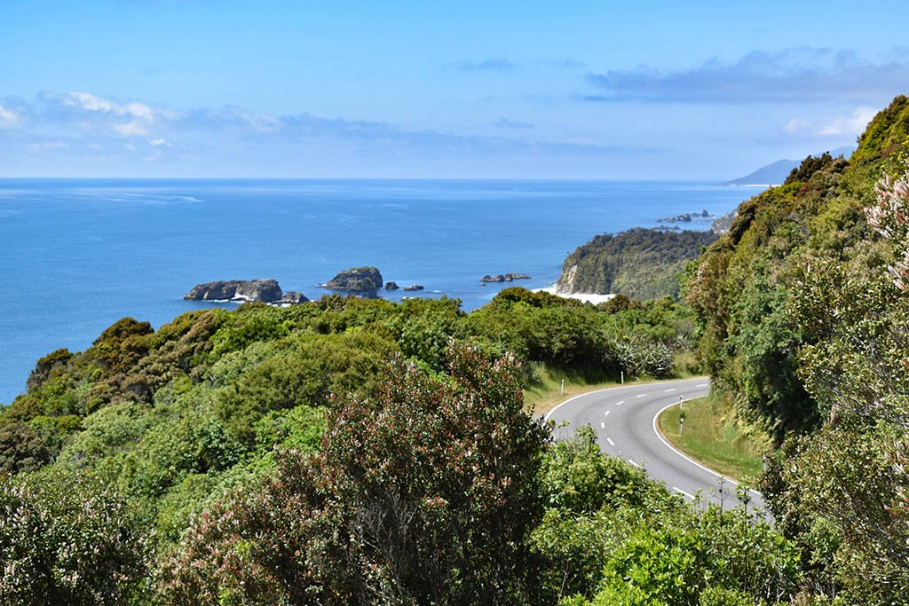 New Zealand South Island west coast drive
