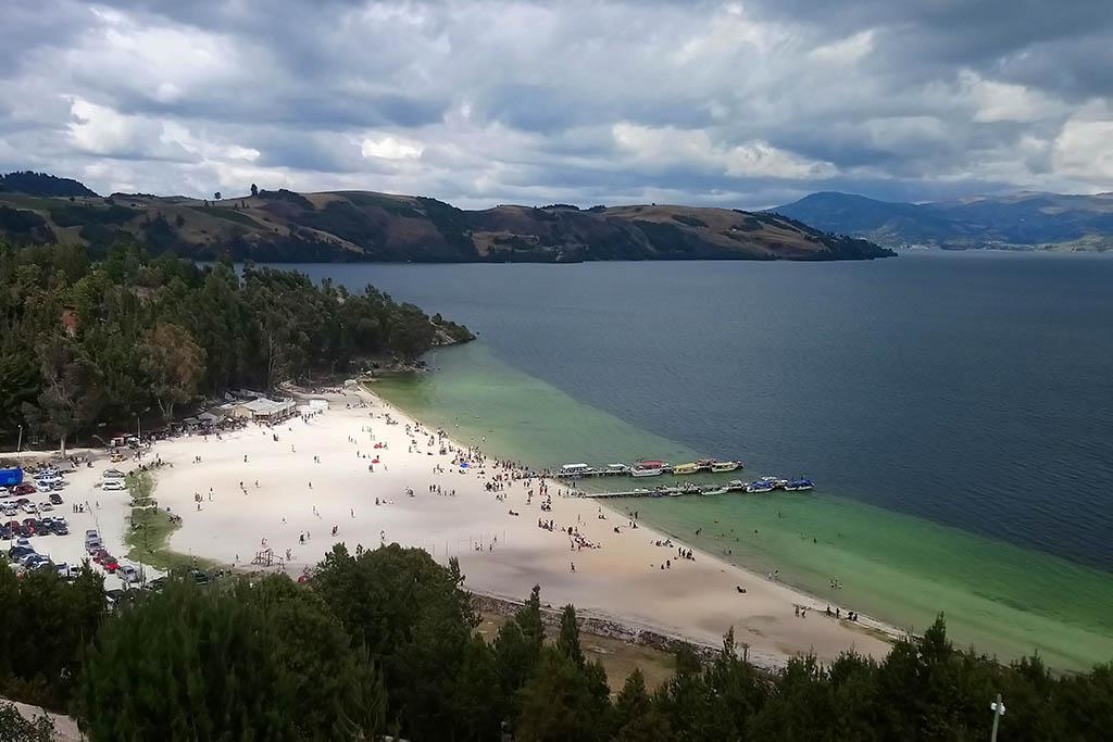 Playa Blanca Lake Tota Colombia