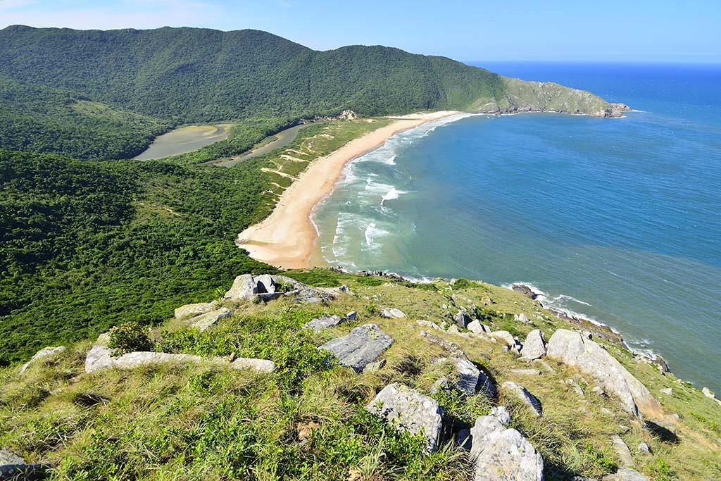 Praia Lagoinha do Leste Brazil