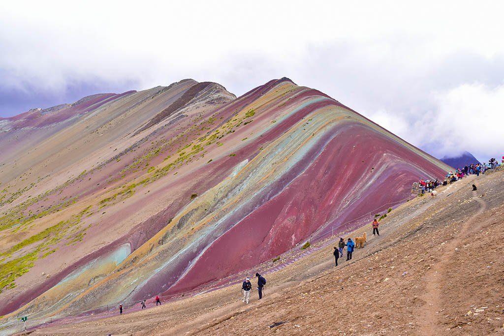 Things to see in South America: Rainbow Mountain, Peru