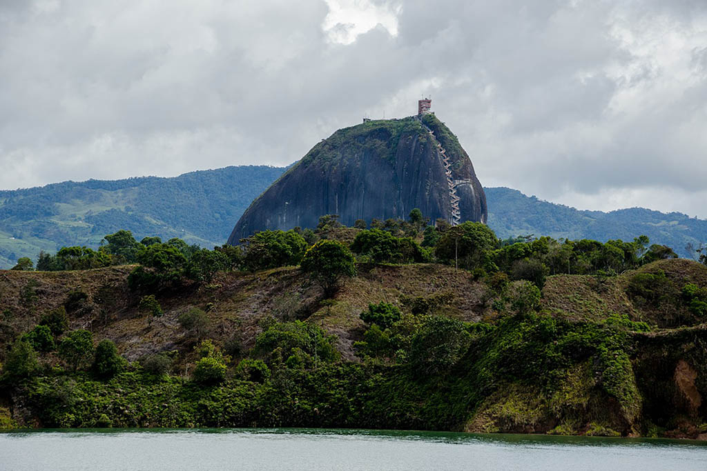 South America bucket list: Rock of Guatape Colombia