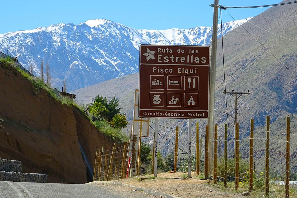 Ruta de las Estrellas Elqui Valley Chile