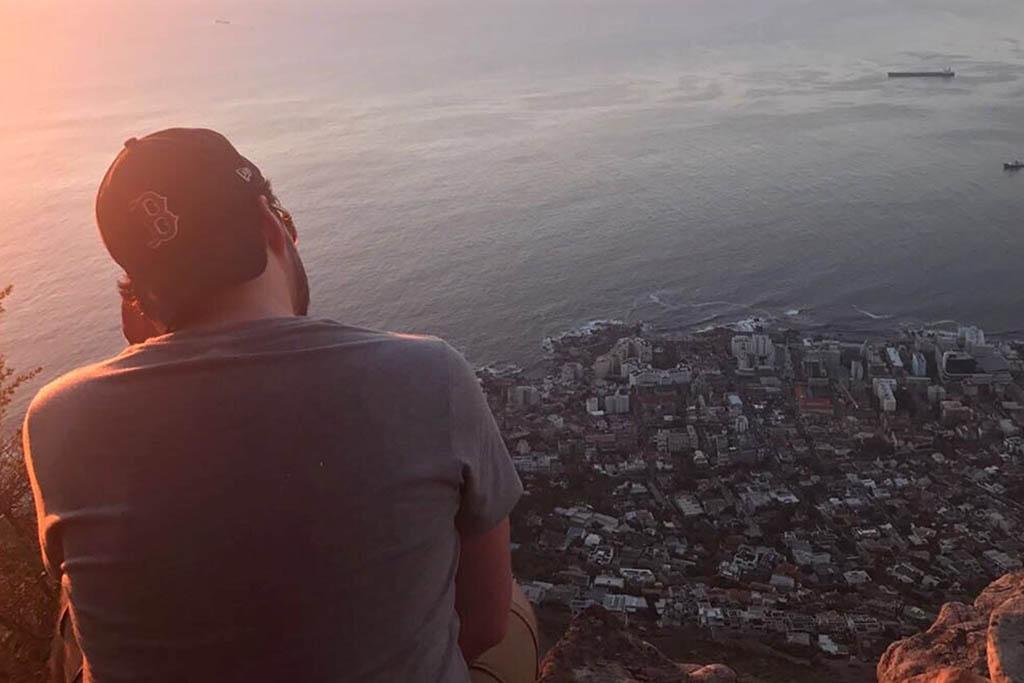 Simon Akers Cape Town view