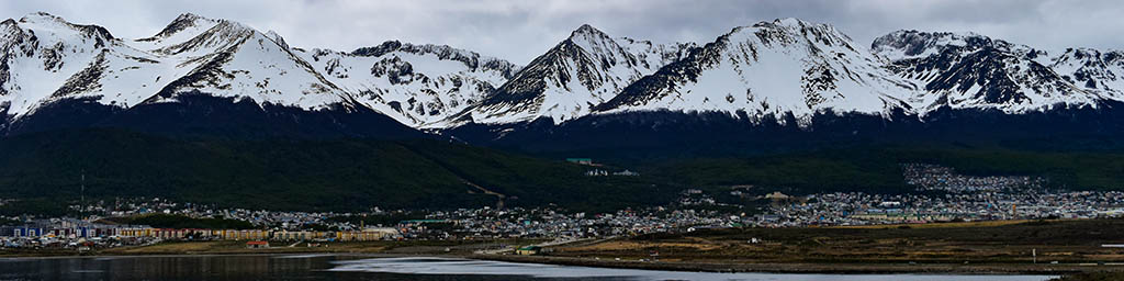 Ushuaia is a popular starting point for backpacking in Patagonia