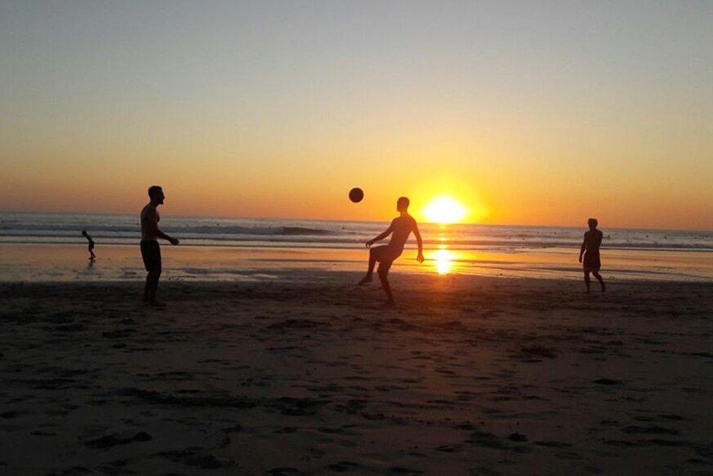 Beach football South America