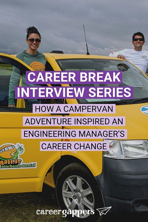 Erin spent 13 years working in software engineering before leaving her job for a travel break. The adventure has sparked a new career in money coaching. #sabbatical #financialfreedom #careerchange #campervanning #careerbreak