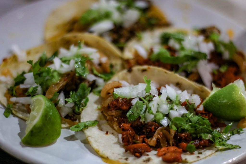 Travel food: Tacos from Mexico