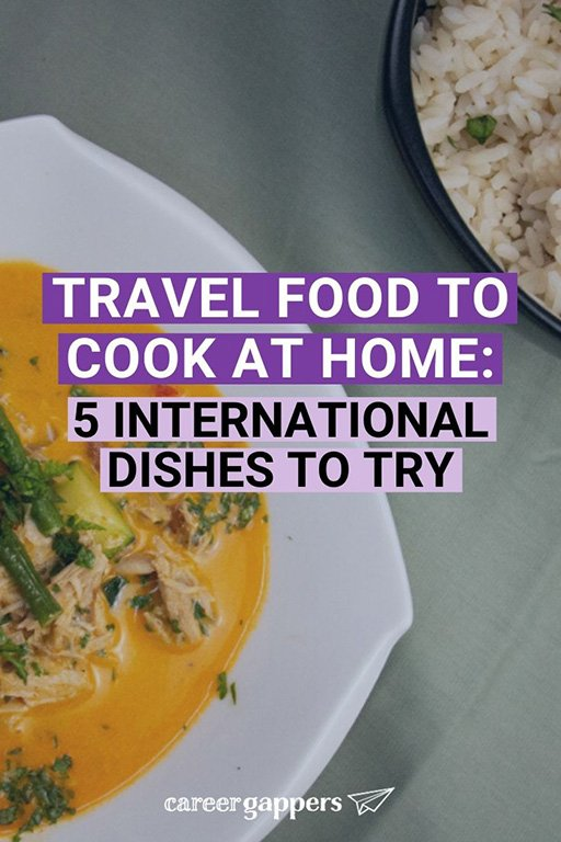 Discovering new food is one of the best things about travel. These international recipes will help you recreate travel food in your own home. #travelfood #internationalfood #travelcuisine #internationalcuisine #internationalrecipes