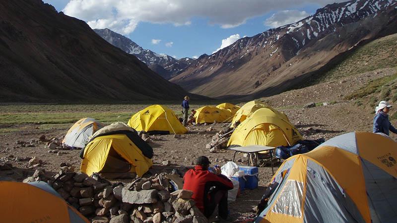 Aconcagua Base Argentina