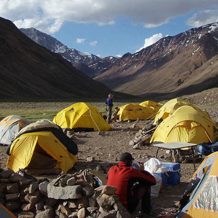 Aconcagua Base Camp Argentina small group tours South America