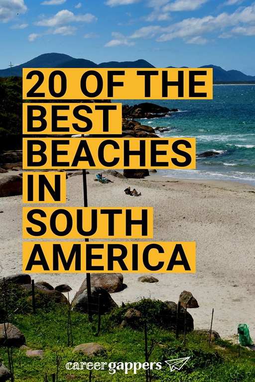 From the sun-drenched sands of Brazil to the tropical beauty of Colombia, we compile the very best beaches in South America to hit on your next adventure. #bestbeaches #southamericabeaches #southamerica #beaches #beachesinsouthamerica