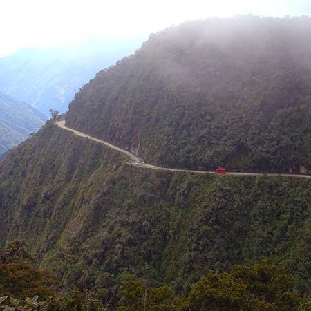 Bolivia North Yungas Road