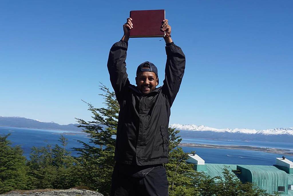 Emon Choudhury Race Across the World winner