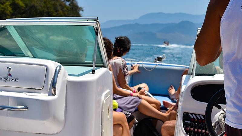 Ilha Grande boat trip