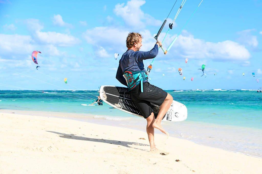Ken Macken in Le Morne Mauritius