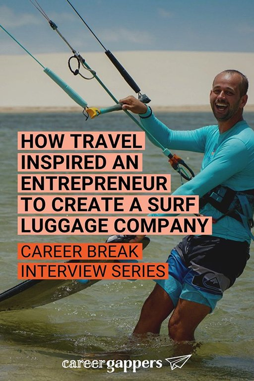 Ken Macken created a surf luggage company after taking a travel career break in his mid 30s. He tells his story in this interview.#travel #careerbreak #kiteboarding #surfing #surfluggage