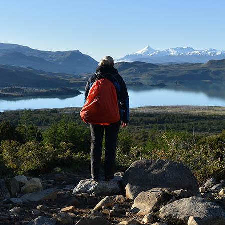 Lisa backpack Torres Del Paine National Park