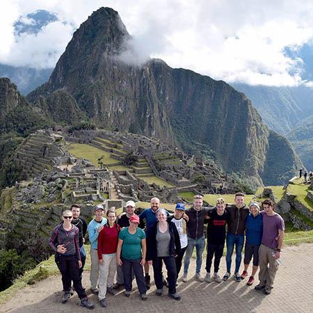 Machu Picchu Inca Warriors