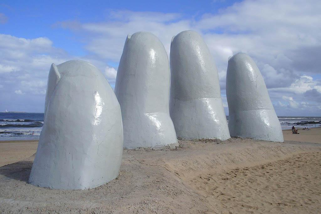 Playa Brava Fingers Punta Del Este Uruguay