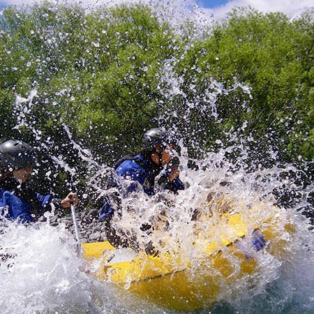 Pucon white water rafting Chile, small group tours South America