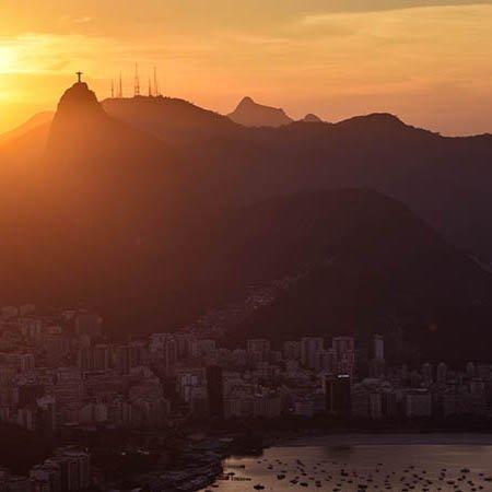 Rio de Janeiro Sugarloaf Mountain sunset