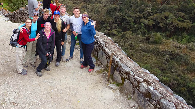 Small group tour on Inca Trail