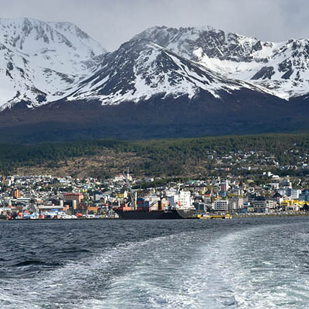 Small group tours in South America: Ushuaia Beagle Channel Cruise view