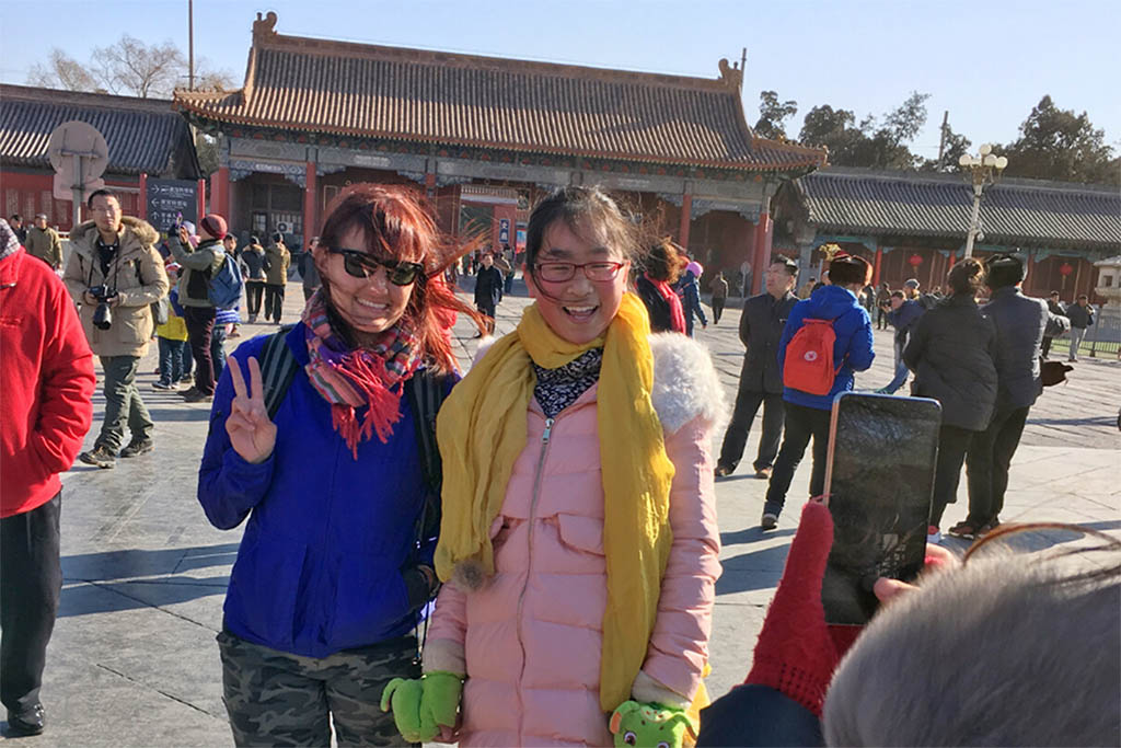 """Being the """"other"""" in Beijing helped me to appreciate valuing differences in the workplace"""