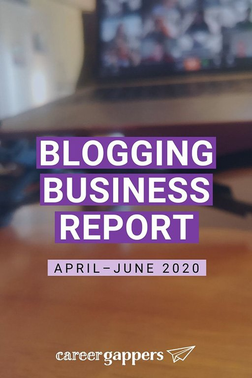 Our latest blogging report looks at the impact of the coronavirus pandemic on business, how we are adapting, and reasons to be positive. #businessreport #incomereport #blogging #bloggingbusiness #bloggers