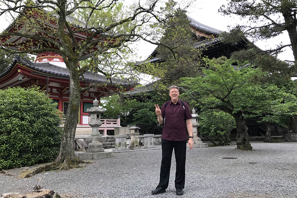 Tim Brown in Japan