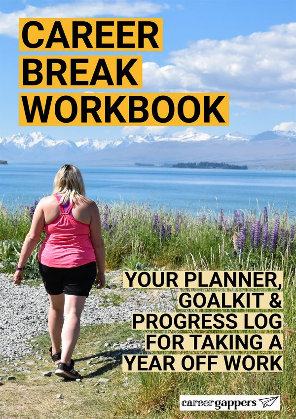 Career Break Workbook cover preview