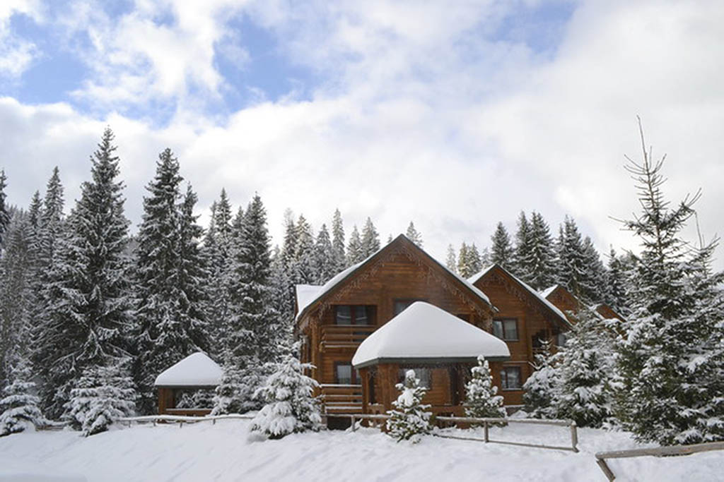 The Carpathian Mountains in Ukraine is one of the best winter destinations in Europe