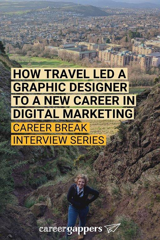 Graphic designer Darah Aldridge tells how an 18-month travel adventure helped her to build a new career in digital marketing. #careerbreak #careerchange #sabbatical #travelcareerbreak #newcareer
