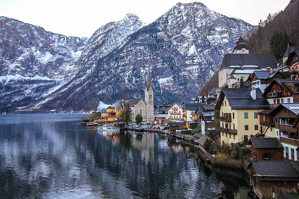 Best winter destinations in Europe: Hallstatt, Austria