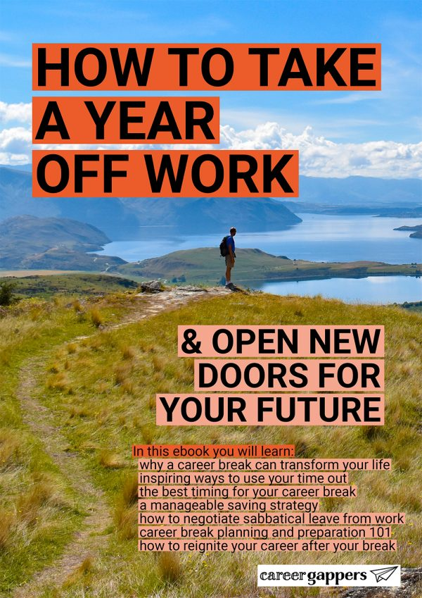 How to Take a Year Off Work cover preview