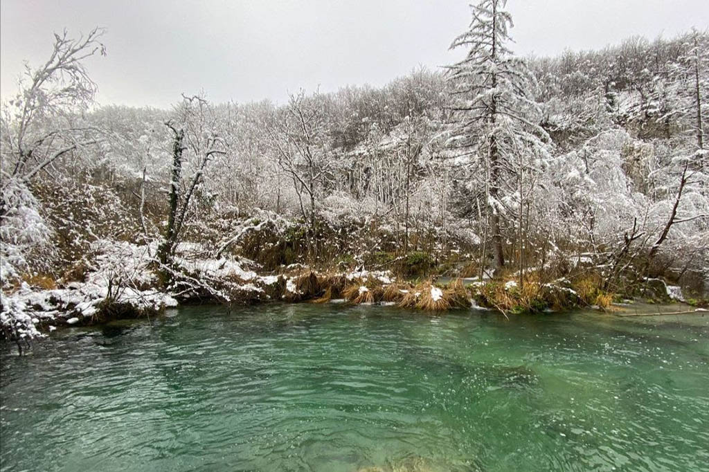 Best winter destinations in Europe: Plitvice Lakes National Park
