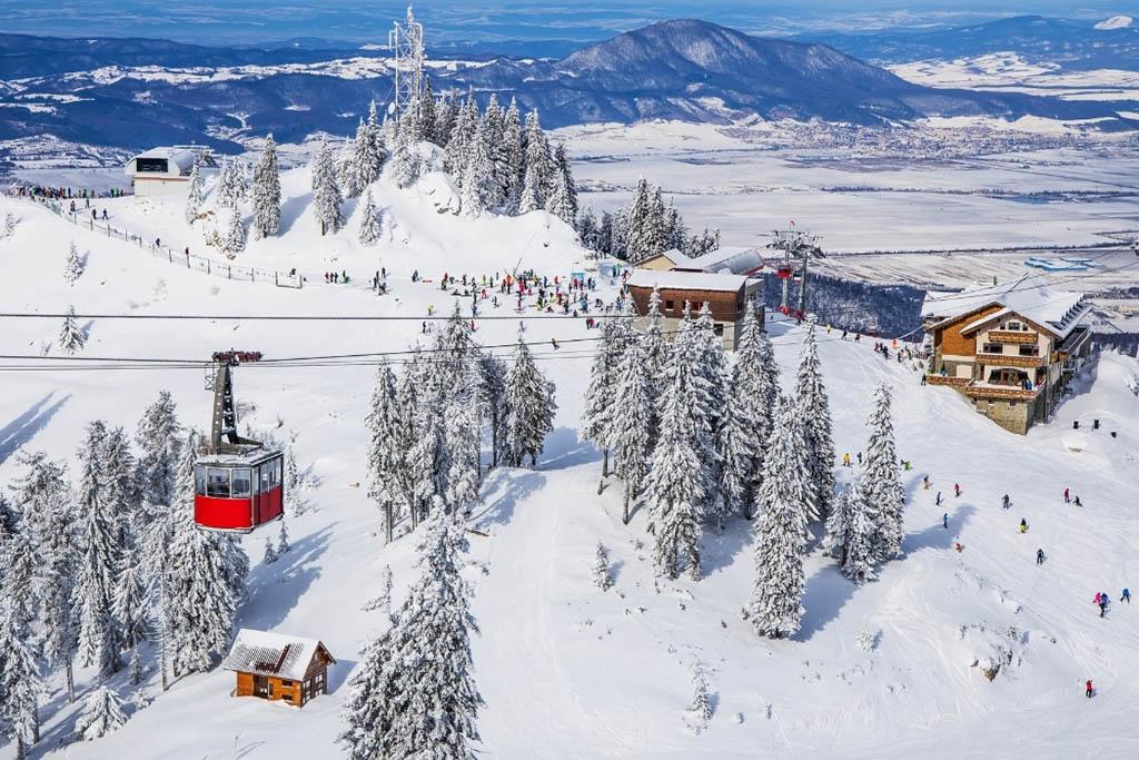 Winter destinations in Europe: Poiana, Brasov