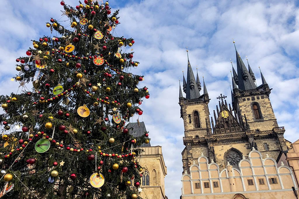 Prague is a great European city to visit in winter