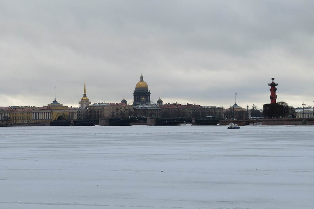 Saint Petersburg is among the best winter destinations in Europe