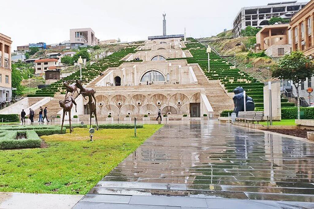 Yerevan, Armenia, is one of the best places to visit in Europe in winter